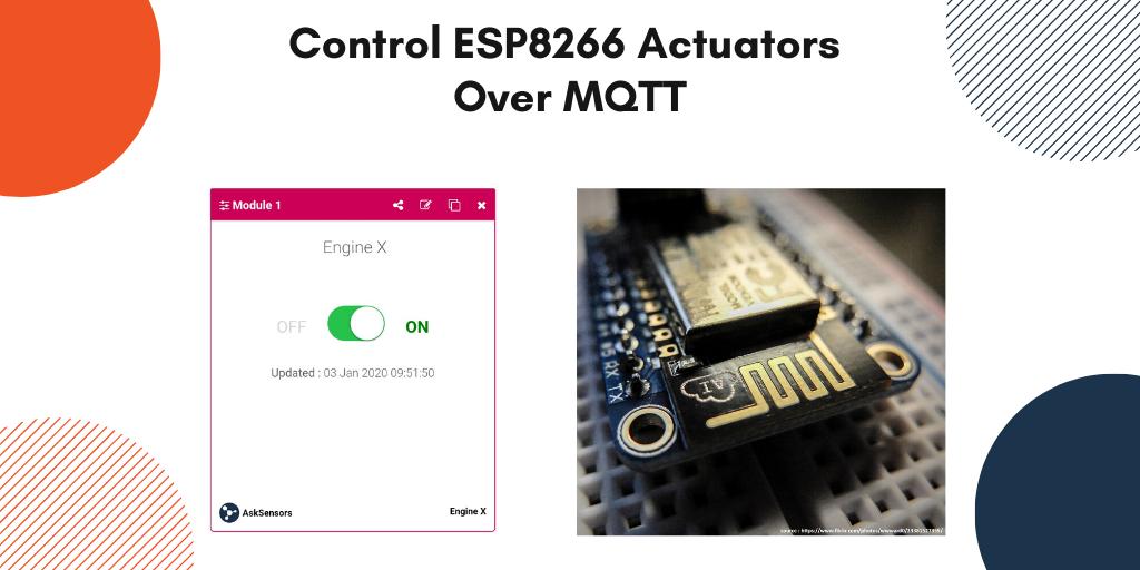 AskSensors : Control ESP8266 MQTT