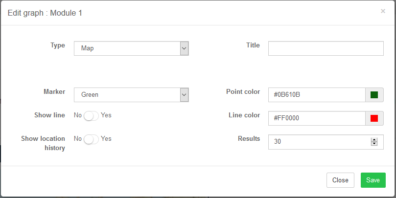 AskSensors : GPS tracker settings